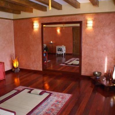 La salle de massage et relaxation